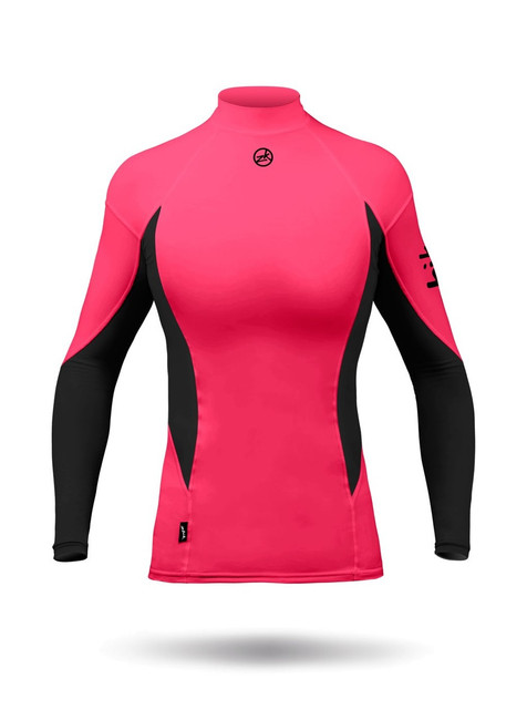 Zhik Long Sleeve Spandex Top Womens
