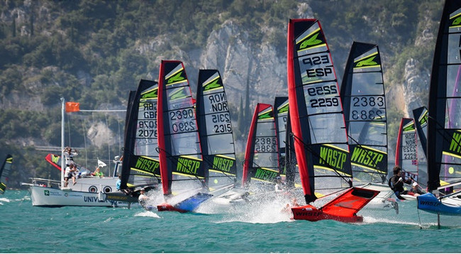 FOILING WITH FRIENDS