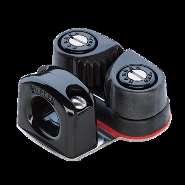 Harken Micro Carbo Cam Base w/Bullseye