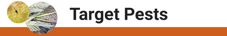 Target Pests