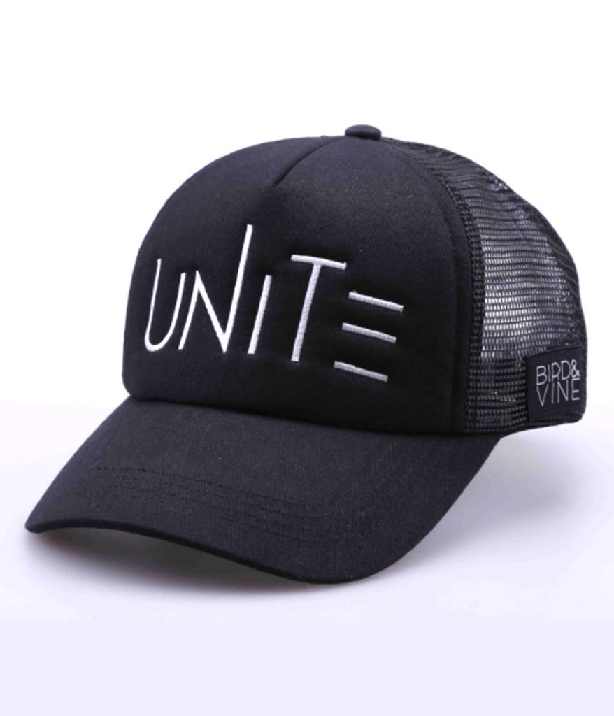 UNITE EMBROIDERED TRUCKER HAT