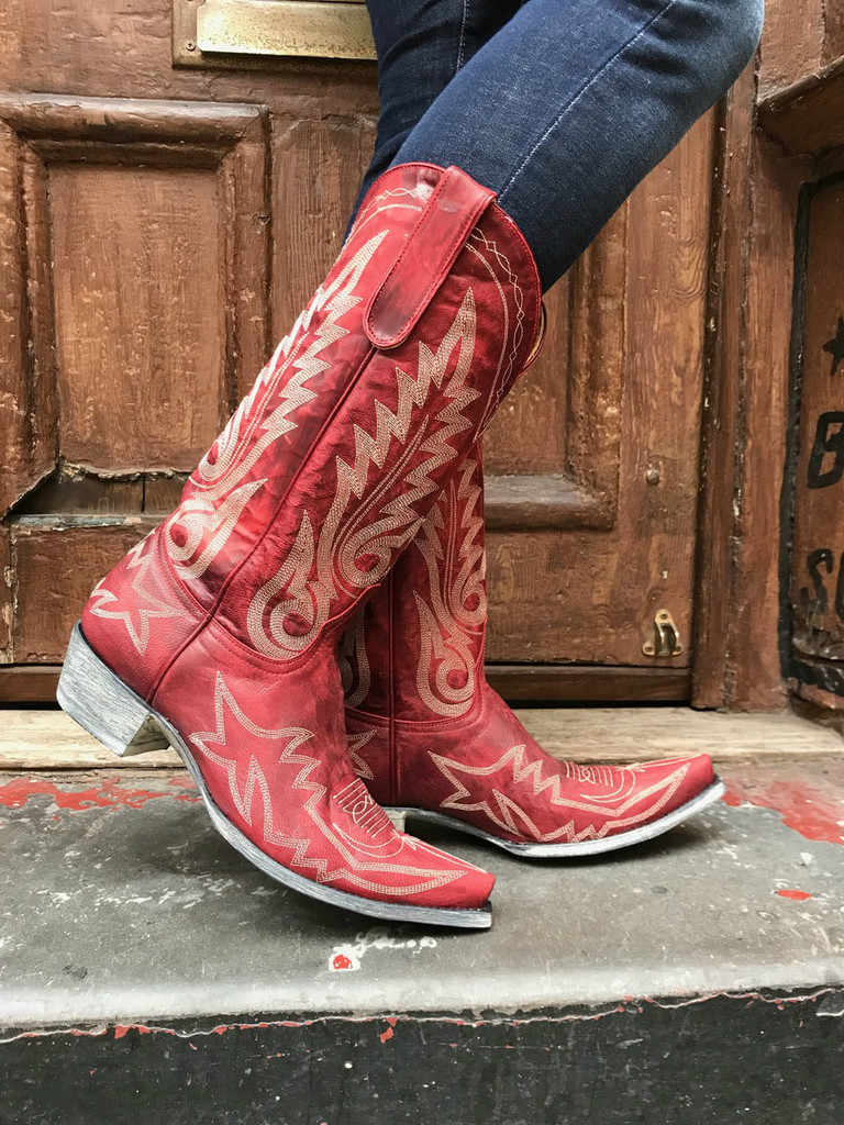 Old Gringo Woman's Red Nevada Boot L175-262