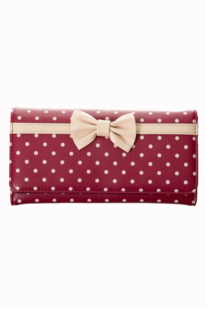 Carla Polka Dot Purse