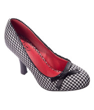 Dancing Days String Of Pearls Polka Dot Pumps - Houndstooth