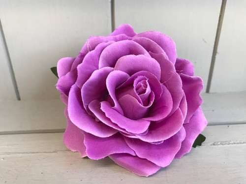 Pin Up Hair Roses - Light Purple