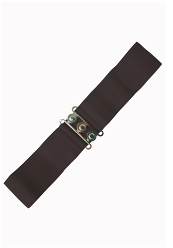 Vintage Stretch Belt - Brown
