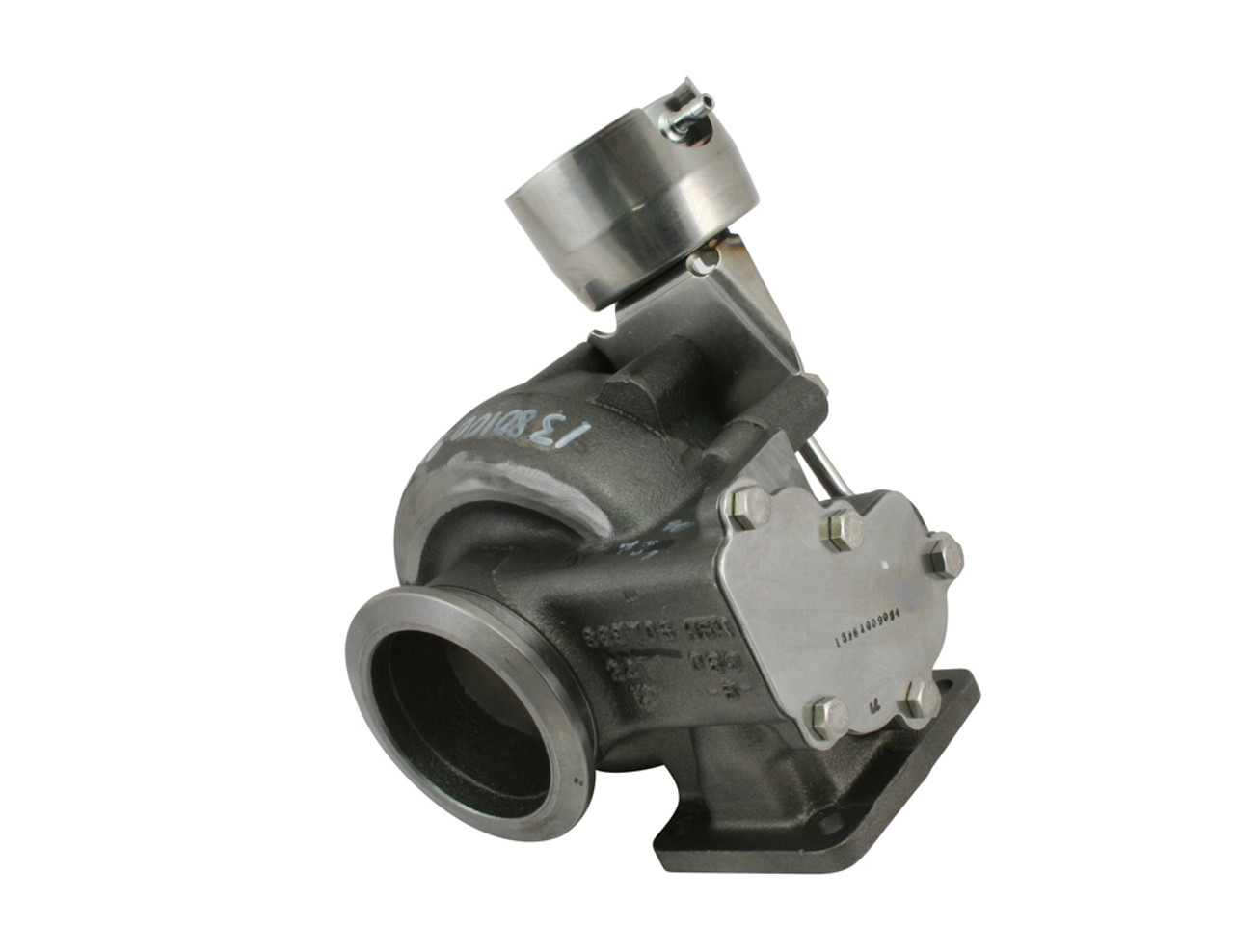 T4 .83 A/R Divided Inlet V Band Outlet Wastegated for BW S300