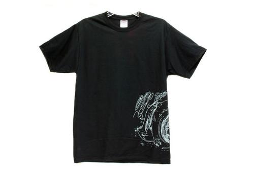 AGP Turbo Black Script T Shirt