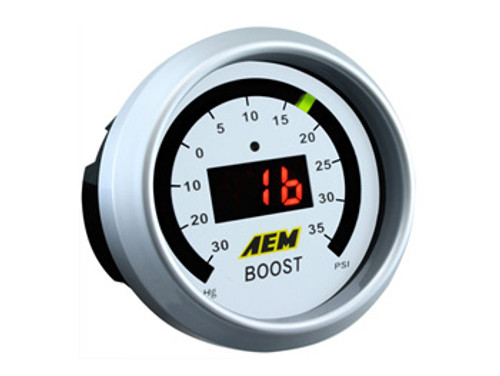 AEM Digital Boost Gauge 35psi
