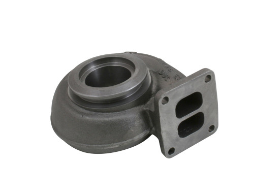 "T4 Divided Inlet 3.5"" V Band Outlet for S200sx Borg Warner"