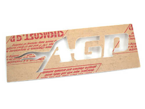 AGP Intercooler Logo Stencil