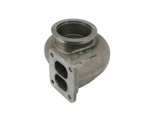 "T4 Divided Inlet 4"" V Band Outlet Turbine Housing for S400 83/74 and 87/82"