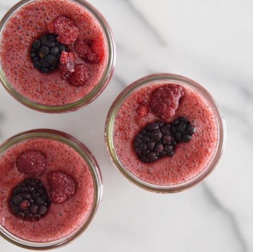 Berry Cauliflower Smoothie Recipe