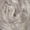 Tussah silk tops for feltmakers. This is Bleached Tussah