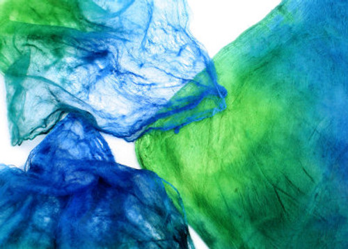 Silk hankies. This color harmony is Monsoon