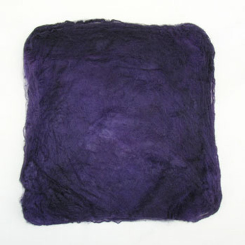 Silk hankies. This solid color is Black Currant