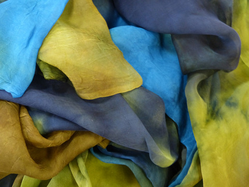 Tissue silk fabric. Open weave, lightweight,  gauzy.