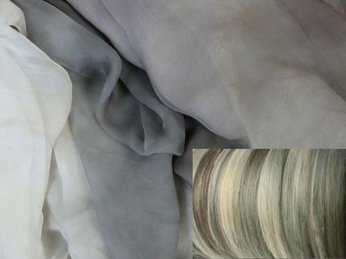 Tissue Silk Neck-Knack Felting Kit--Chinchilla