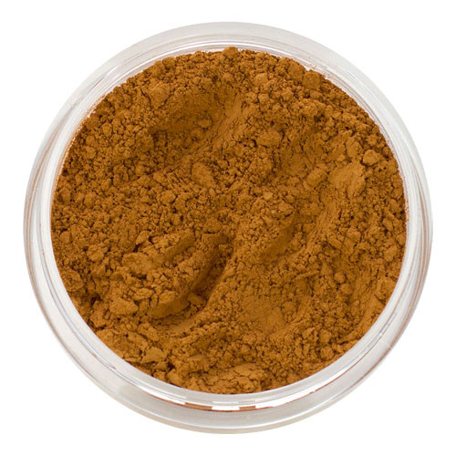 Mineral Foundation In Golden Caramel  Sterling Minerals-8997
