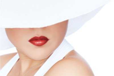 woman-in-white-hat-dress-wearing-bright-red-natural-lipstick.jpg