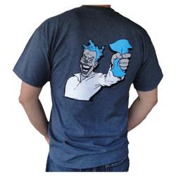 "Microfiber Madness: T-shirt ""Proud Clown"" (Large) (Mer-32)"