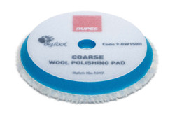 RUPES Blue Coarse Wool Pad - 5""