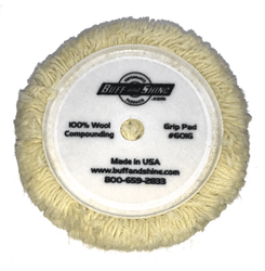Buff and Shine Twisted Wool Pad 6 in. *New*