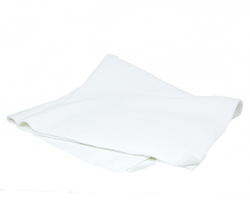 "Edgeless White Polish Towel - 16"" x 16"""
