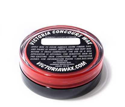 victoria concours red wax 3 oz sky s the limit car care