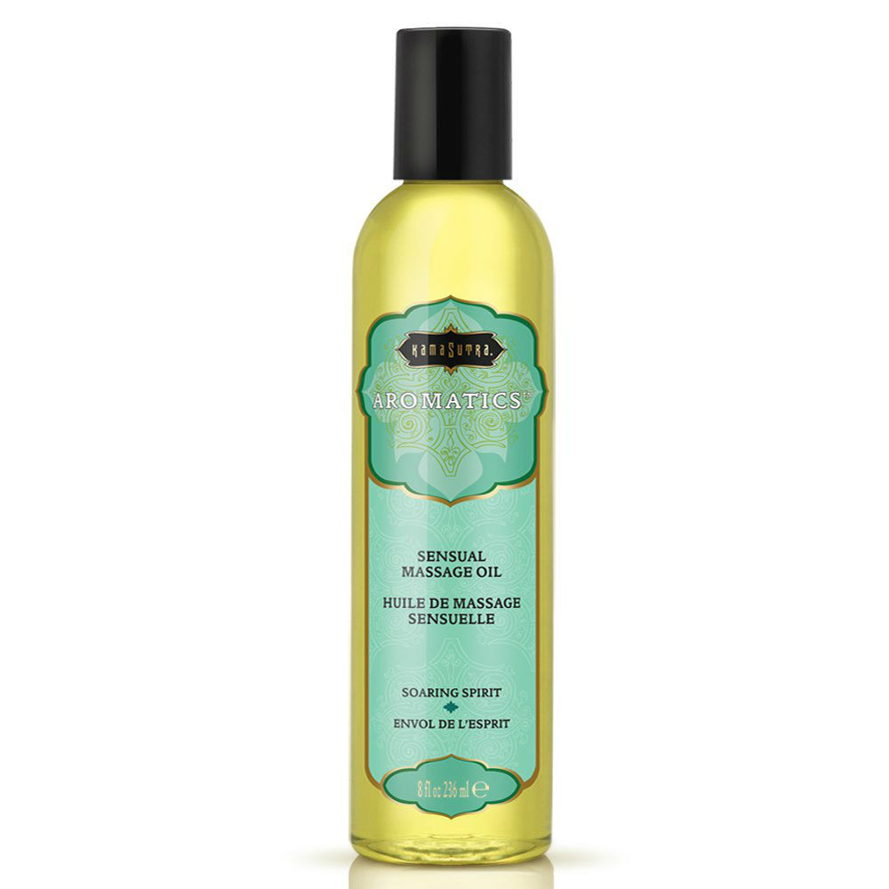 Kamasutra Aromatics Soaring Spirit Invigorating Massage Oil 59ml