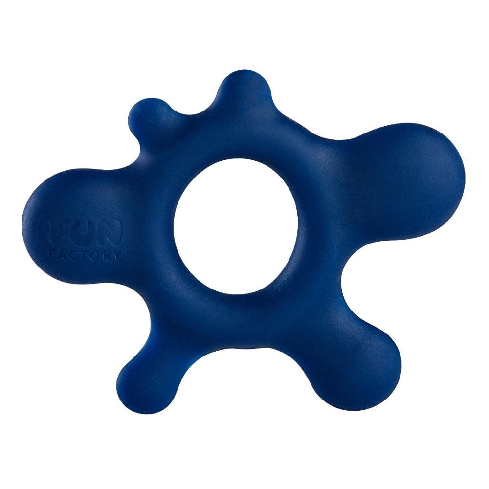 Fun Factory Rain Silicone Cock Ring (Blue)