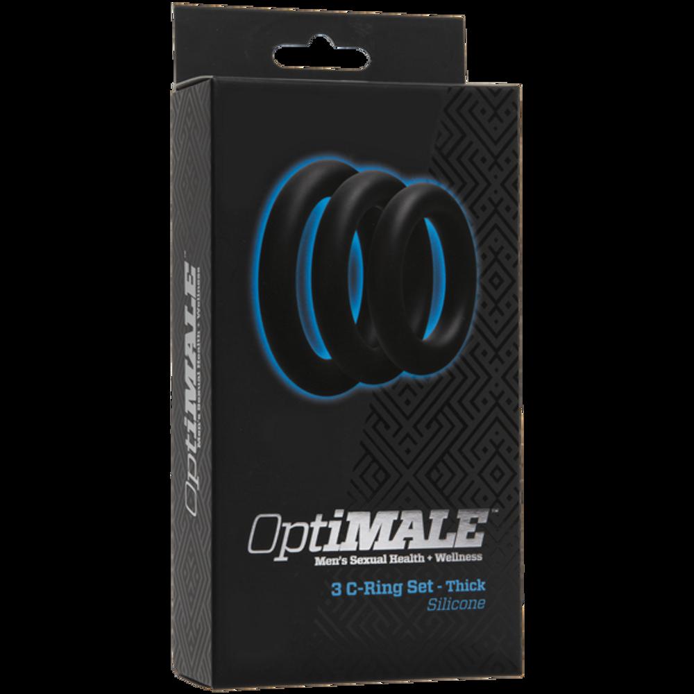 Doc Johnson Optimale C-Ring Set (Thick)