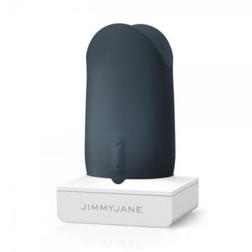 Jimmyjane Form 5 Luxury Rechargeable Couples Vibrator (Slate)