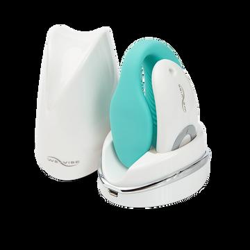 We-Vibe Sync Couples Vibrator With Remote Control (Aqua)