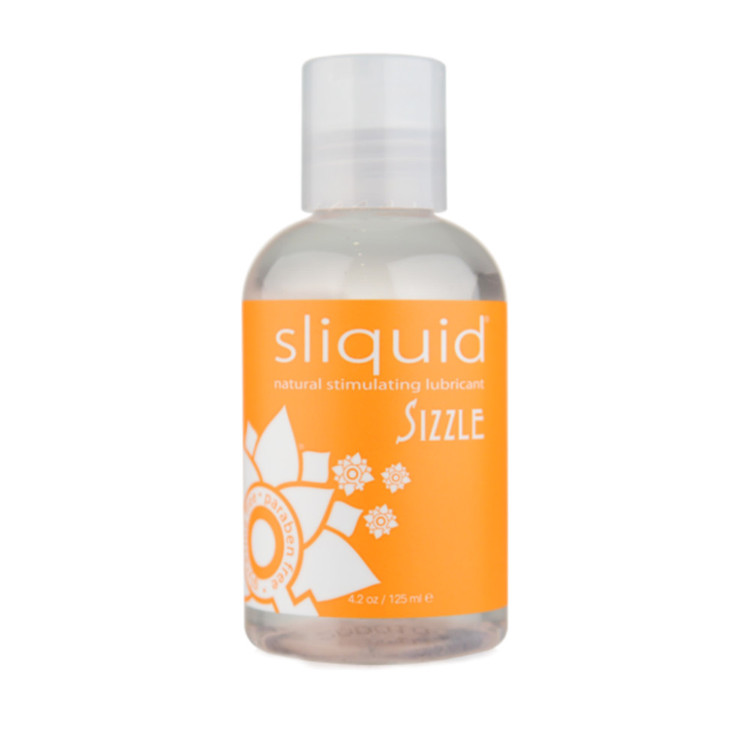 Sliquid Naturals Sizzle Water Based Lubricant 125ml