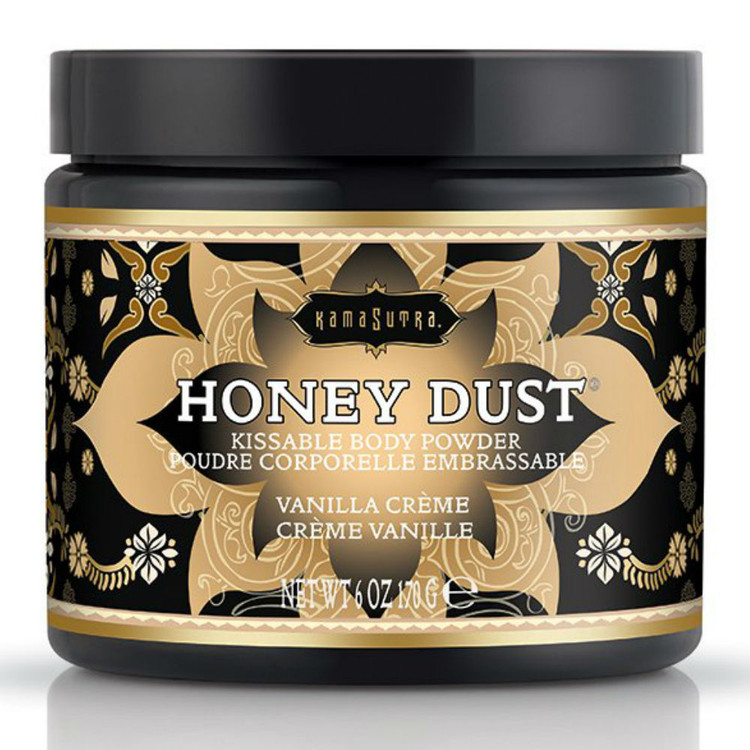 Kamasutra Honey Dust Body Powder Vanilla Creme 170g