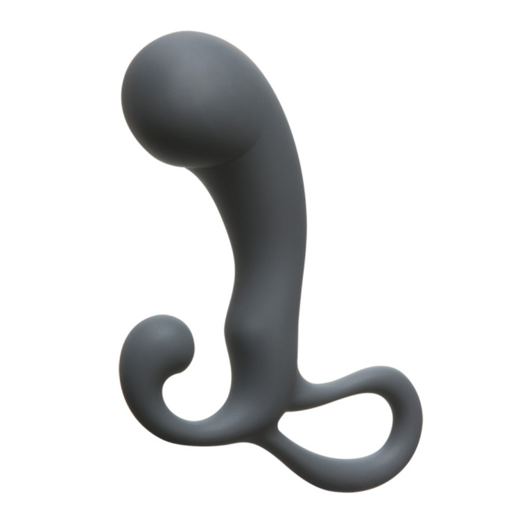 Doc Johnson Optimale Silicone Prostate Massager With Retrieval Ring