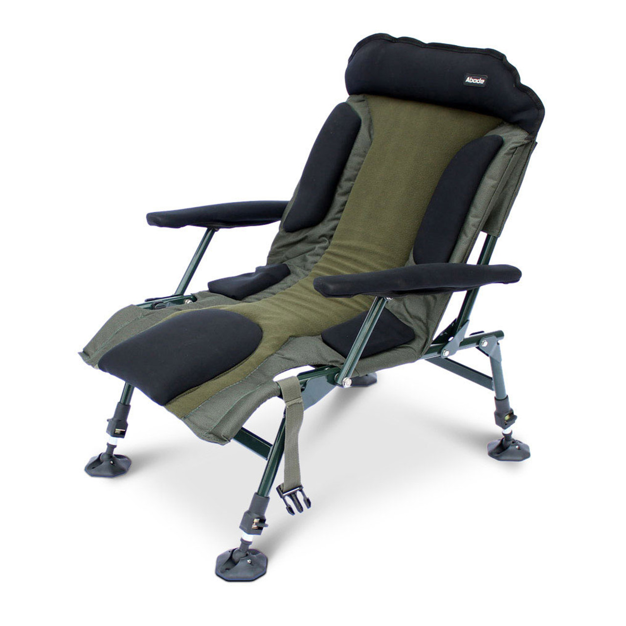 Abode 174 Carp Fishing Camping Folding Easy Arm Lo Armchair