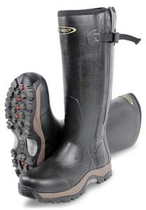 DIRT BOOT, Neoprene, Rubber, Wellington, Muck, Boot, Pro-Sport, Hunt, Zip, Black