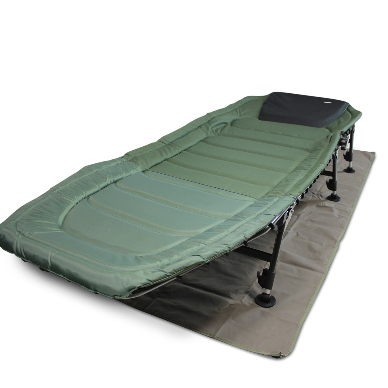 Abode Carp Fishing Camping Bedchair Bed Chair Bivvy