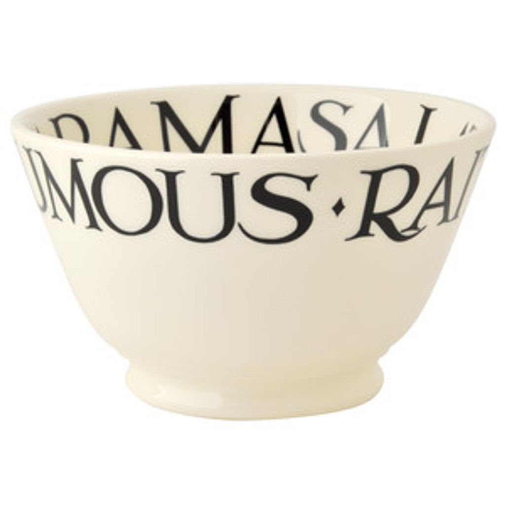 Black Toast Dips Old Bowl from Emma Bridgewater.