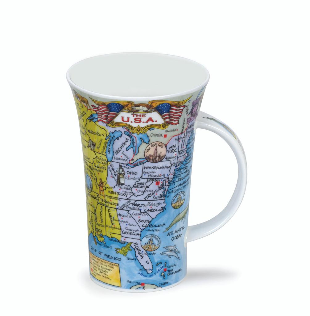 Dunoon Bone china Glencoe The USA mug