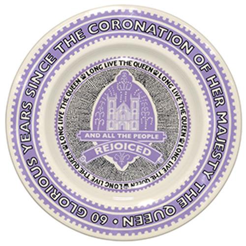 Coronation 8 1/2 inch Plate