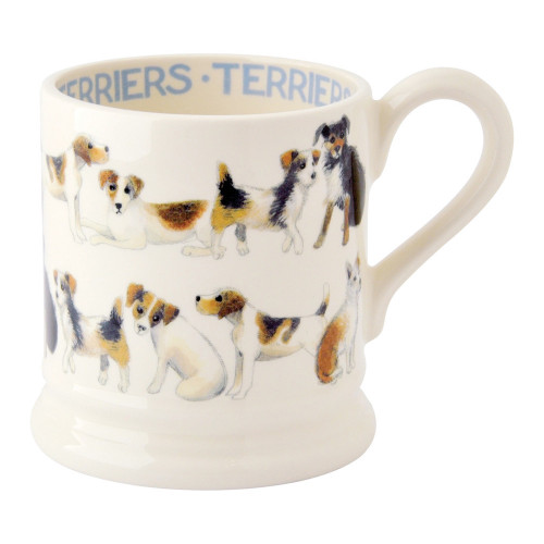 Emma Bridgewater All Over Terrier Half Pint Mug