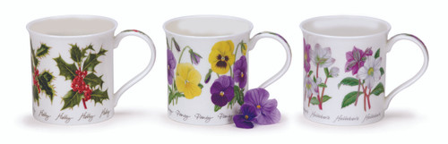 Bute Winter Flowers Mug