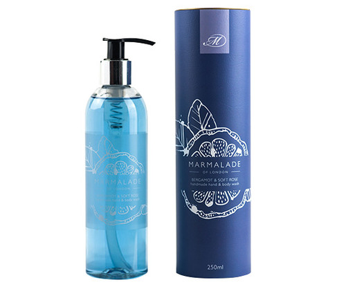 Bergamot & Soft Rose hand & body wash from Marmalade of London.