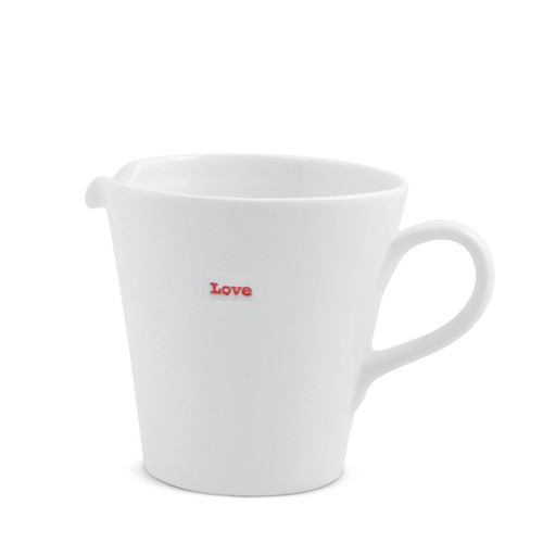 love Medium jug from British designer Keith Brymer Jones.