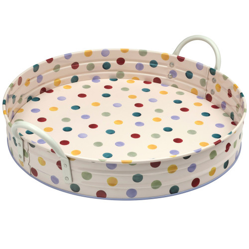 Emma Bridgewater Polka Dot Large Steel Tray