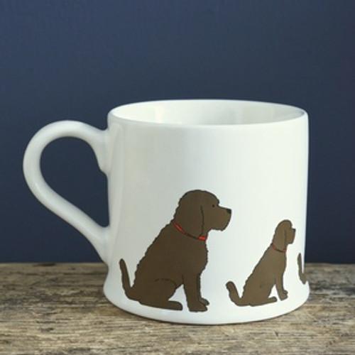 Pottery Cockapoo mug from Sweet William Designs.
