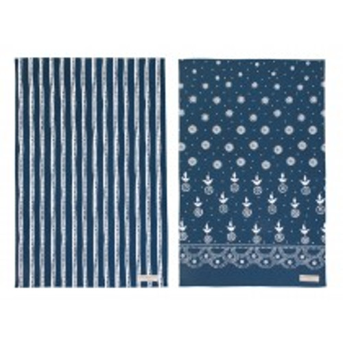 100% cotton Sophie Conran Eszter set of 2 tea towels from Ulster Weavers.